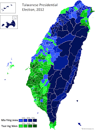 Election Map 2012 by Taiwan Presidential Election 2012 Electoral Geography 2 0