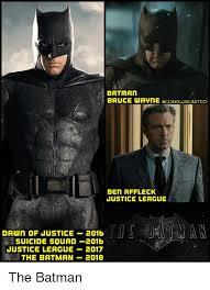 Affleck Batman Meme - batman bruce wavne unlimited ben affleck justice league dawn of
