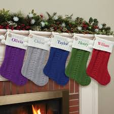 cable knit christmas personalized cable knit christmas available in 8 colors