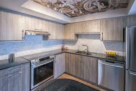 Kitchen Hanging Pot Rack by Steampunk Kitchen Modern With Ceiling Art Chrome Hanging Pot Racks