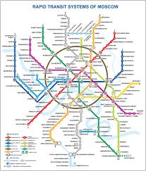 Moscow On Map Moscow Metro Seeks Further Development Railway Pro Communication