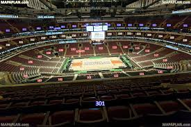 United Center Floor Plan Chicago United Center View From Section 301 Row 8 Seat 6