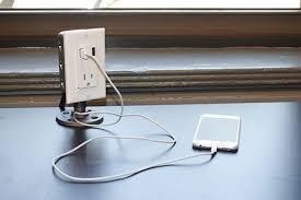 Charging Station Desk The Handmade Industrial Desk Usb Charging Station Gadgetsin