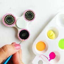 diy fidget spinner colorful designs u2022 color made happy