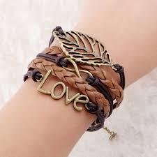 fashion jewelry charm bracelet images Infinite double leather charm bracelet woman jewelry smooth shop jpg