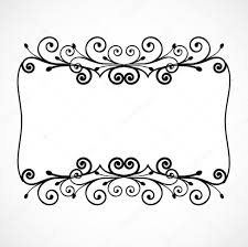 vintage ornament floral frame vector stock vector emaria