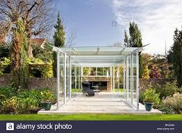 glass pavilion glass garden pavilion stock photo royalty free image 26527696