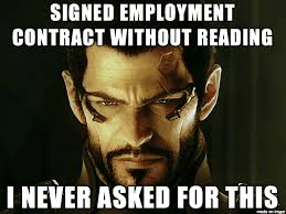Contract Law Meme - 5 labour rights you should know as a kenyan employee