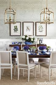 Dining Room Inspiration This Blue And White House Will Cure Your Monday Blues Dining