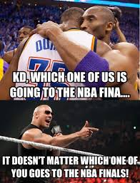 kd vs kobe the world chion don t hate miami your source