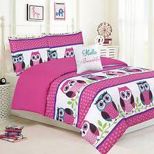 Pink Striped Comforter Girls U0027 Striped Bedding Ebay