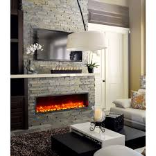 All Modern Furniture Nyc by Modern Electric Fireplaces Allmodern 55 Built In Led Fireplace
