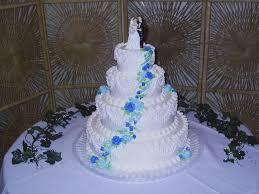 blue flowers for wedding 4 tier wedding cake blue some recent wedding cakes s cake