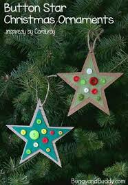 button christmas tree ornament cute u0026 simple button tree
