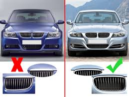 for bmw e90 e91 facelift 325i 328i 335i 09 11 matte black front