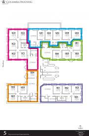 Dorm Floor Plans by Hogan Hall Housing