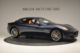 maserati convertible 2015 2017 maserati granturismo sport stock m1641 for sale near