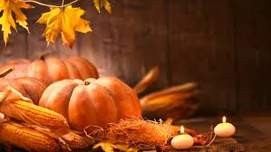 pumpkin squash happy thanksgiving day wooden table background