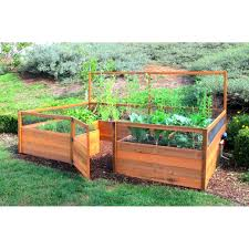 raised bed vegetable garden ideas buythebutchercover com