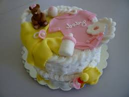 baby fondant cake ideas decorating of party baby shower cake no
