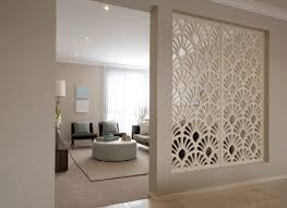 room divider for contemporary living room and patterned room