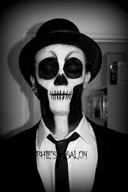 Skeleton Face Paint For Halloween by 16 Best Skeleton Faces Images On Pinterest Halloween Costumes