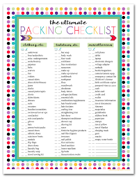 travel checklist images I should be mopping the floor free printable ultimate travel jpg