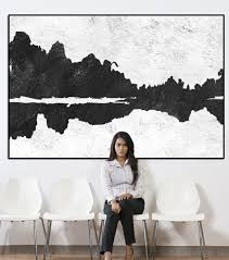 black and white painting ideas wall art ideas