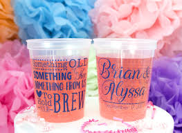 clear plastic cups for wedding personalized plastic cups custom wedding cups plastic