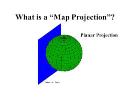 what is a map projection maps ppt