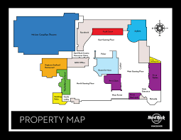 Hard Rock Hotel Las Vegas Map by Property Map Of Hard Rock Casino Vancouver