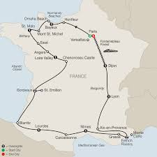 Lourdes France Map by France Tours Globus Western Europe Tours