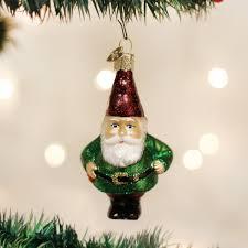 amazon com old world christmas gnome glass blown ornament home