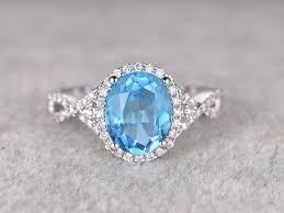 promise ring vs engagement ring 3 68ctw oval sky blue topaz engagement ring vs wedding