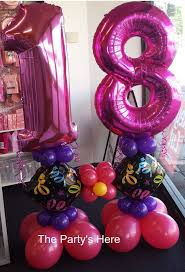age 21 balloon on an air filled base great centerpiece for a