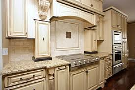 Cream Distressed Kitchen Cabinets How To Glaze Kitchen Cabinets Hbe Kitchen