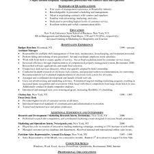 hospitality resume exle hospitality resume exle resume exles resume exles cover
