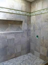 bathroom tile shower ideas plain ideas slate tile shower pretty design slate tiled shower