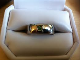 green lantern wedding ring green lantern wedding ring the finished ring made of palla flickr