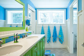 Ways To Add Color Into Your Bathroom Design Freshomecom - Blue bathroom design