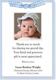 baptism thank you wording the 25 best sle thank you notes ideas on thank you