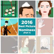 adam sandler thanksgiving lyrics tableau your mind 2016 best picture nominees part 1