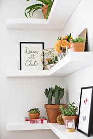 Kitchen Corner Shelf Ideas Diy Floating Corner Shelves U2013 A Beautiful Mess