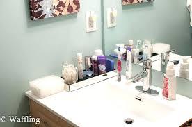 bathroom sink organizer ideas bathroom sink organizer homefield