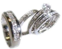 cheap his and hers wedding ring sets his and wedding rings sets cheap blushingblonde