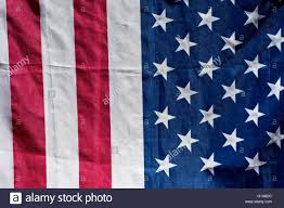 American Flag Wall Hanging Close Up Of American Flag In Sunshine Half Stars Half Stripes