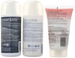 si e bain b amazon com dead sea cosmetics minerals refresh bath set bath and