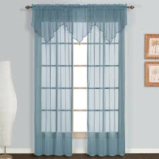 amazon com united curtain monte carlo sheer window curtain panel