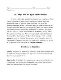 main themes dr jekyll and mr hyde dr jekyll and mr hyde chapter 8 reader s theatre 7th 8th lit