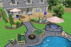 Landscaped Backyard Ideas Backyard Ideas For Landscaping Amazing Backyard Ideas For